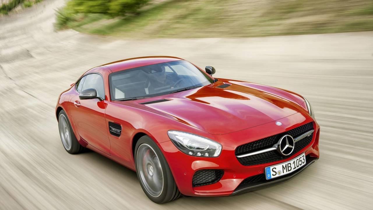 2015 World Performance Car: Mercedes-AMG GT