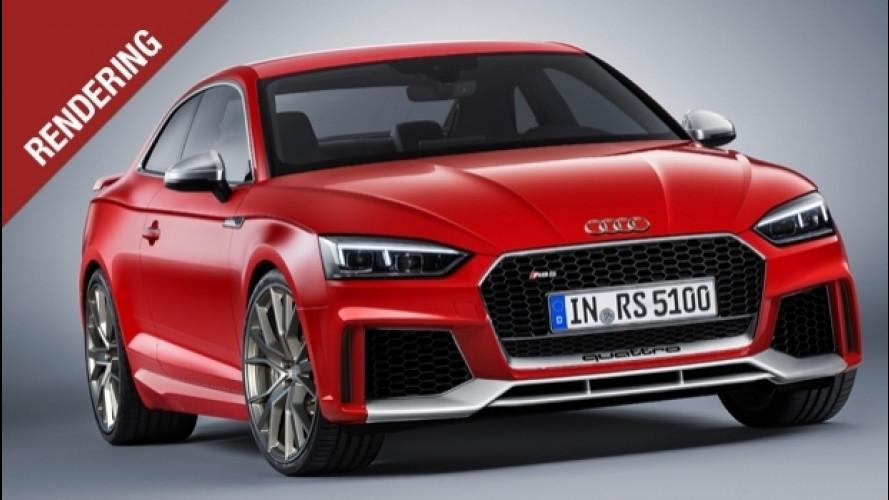 Audi RS 5 Coupé, per la nuova un V6 turbo