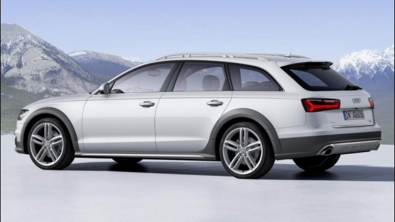 [Copertina] - Audi A6, nuove dotazioni per rispondere a Serie 5 e Classe E