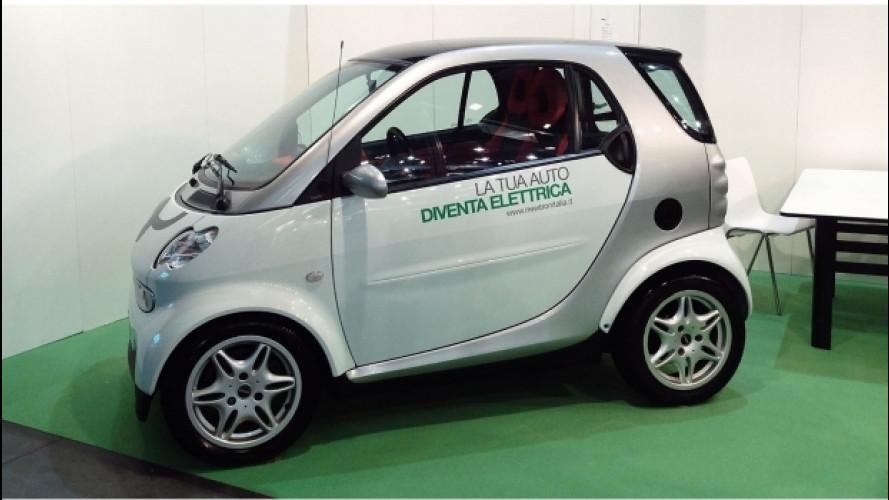 Convertire la propria auto in elettrica, in Italia si può