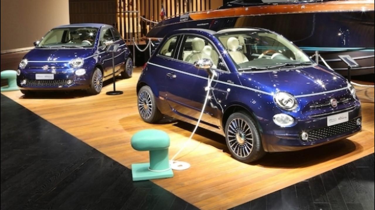 [Copertina] - Fiat 500 Riva Tender to Paris, ancora più speciale