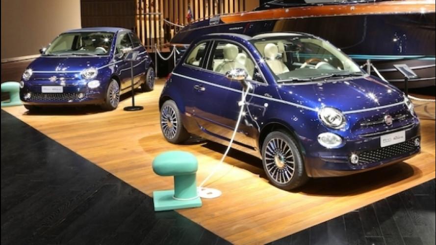 Fiat 500 Riva Tender to Paris, ancora più speciale