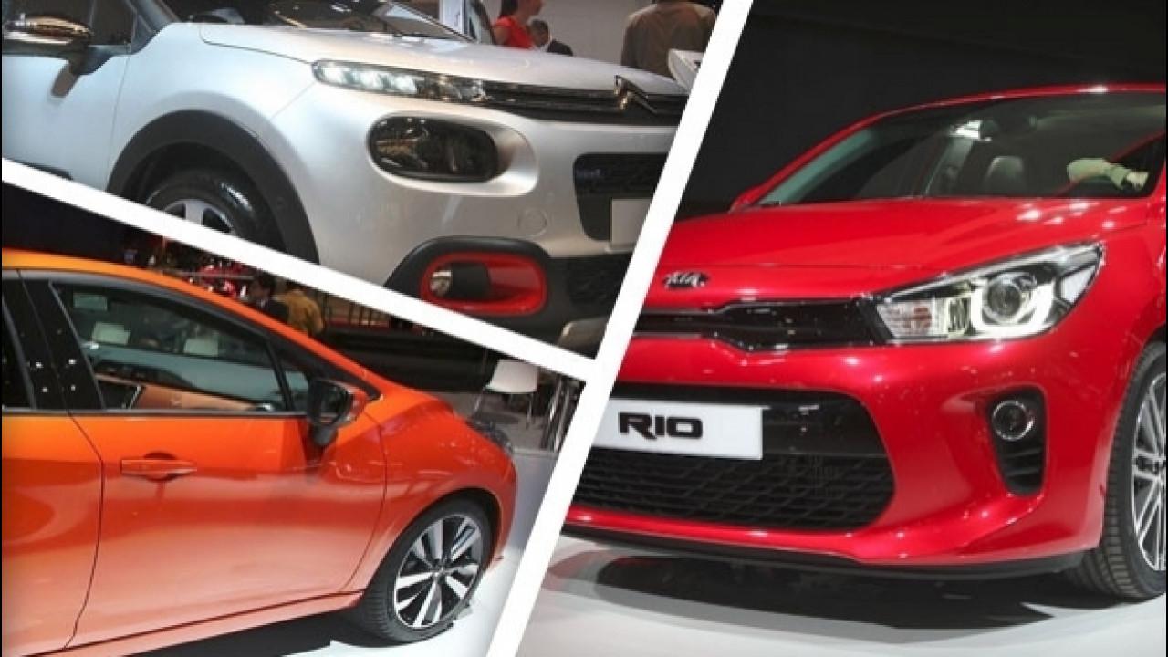 [Copertina] - Salone di Parigi: Citroen C3, Kia Rio e Nissan Micra oltre il concetto di utilitaria
