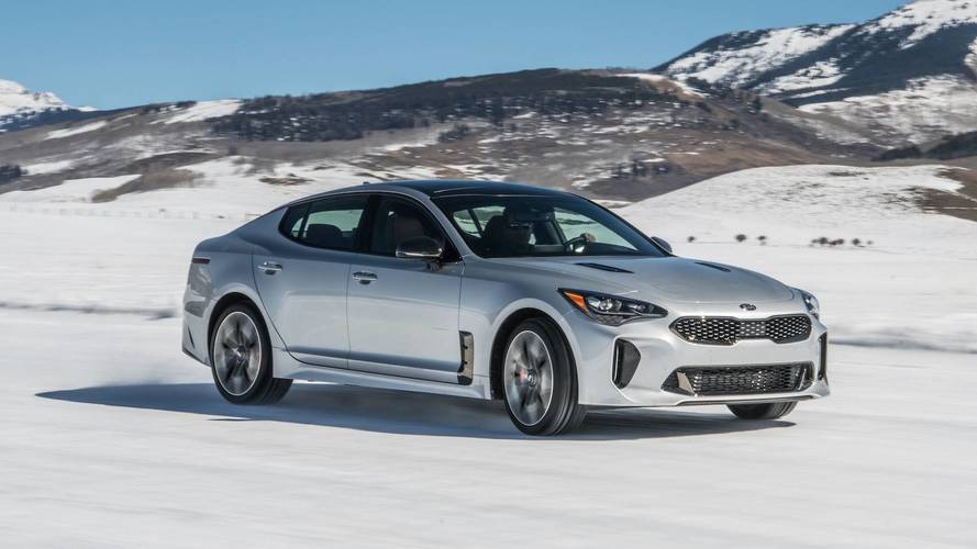 Driving – And Sliding – Kia's Racy Stinger GT On Ice