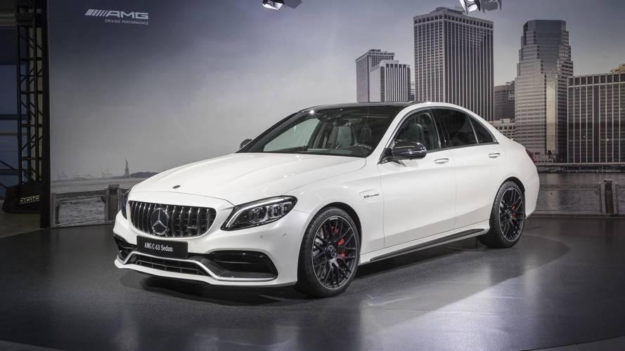 La future Mercedes-AMG C 63 aurait une transmission intégrale