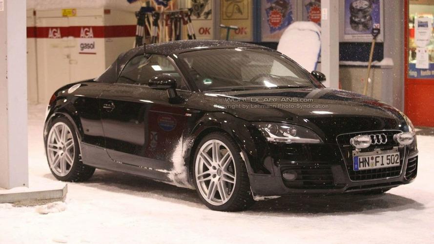 First Spy Photos: Audi TT-RS Roadster