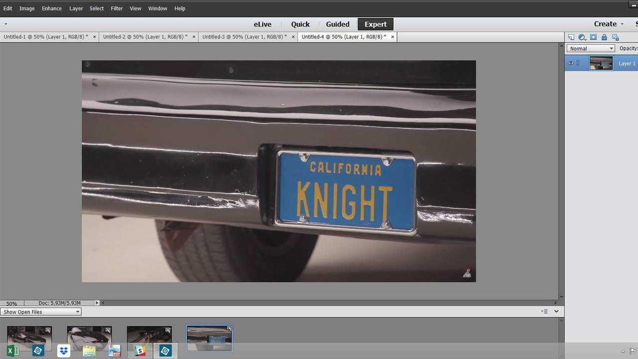 K.I.T.T. From Knight Rider