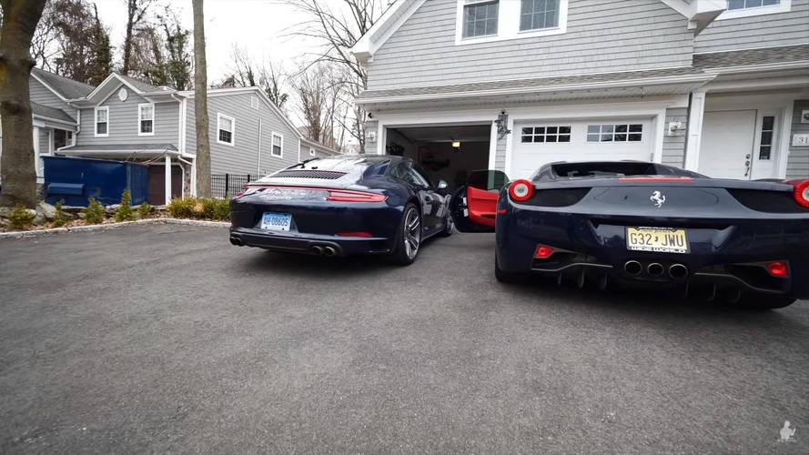 Gyorsulási verseny: Porsche 911 Carrera 4S vs. Ferrari 458 Spider