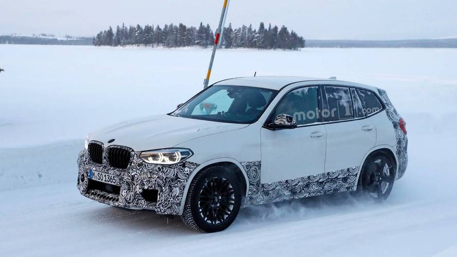 BMW X3 M, 475 bg'lik Competition Pack ile gelebilir