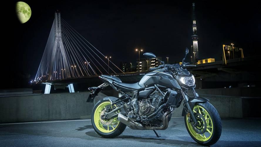 Yamaha MT-07 y MT-09 2018