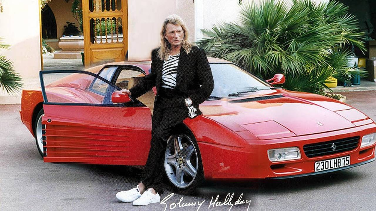 Ferrari 512 TR Johnny Hallyday