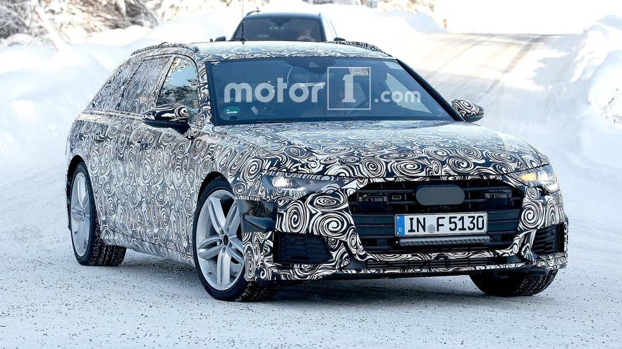 Audi S6 Avant Spied Looking Speedy In The Snow