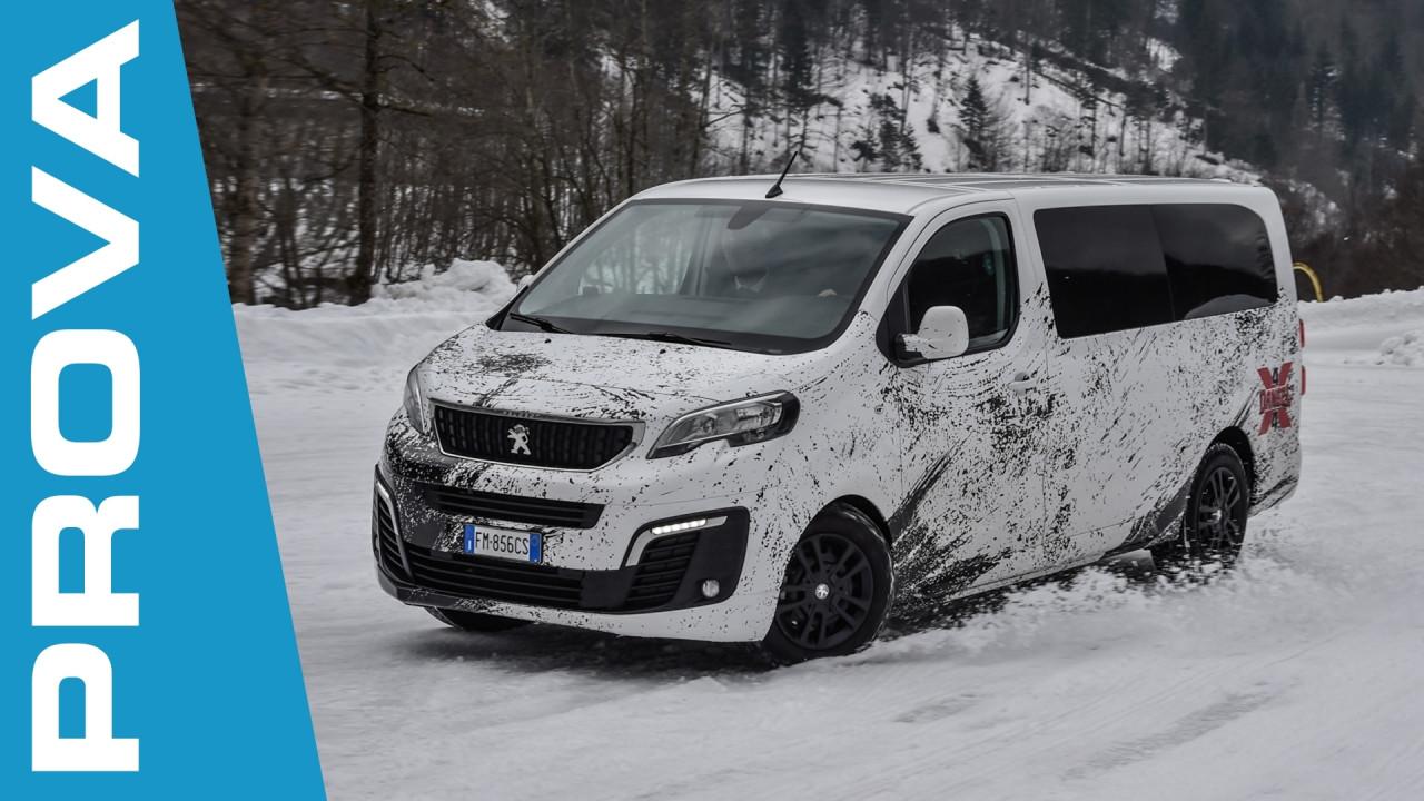 [Copertina] - Peugeot Traveller 4x4 Dangel, se il gioco si fa duro