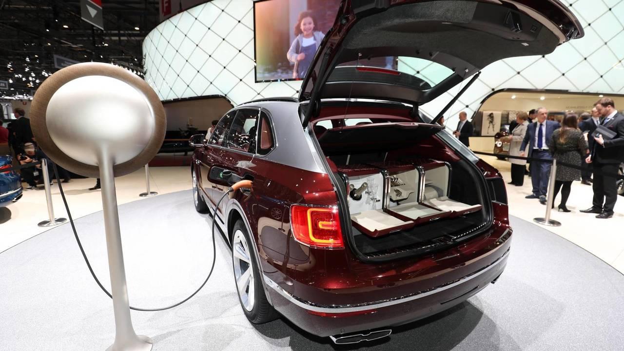 Bentley's designer plug socket