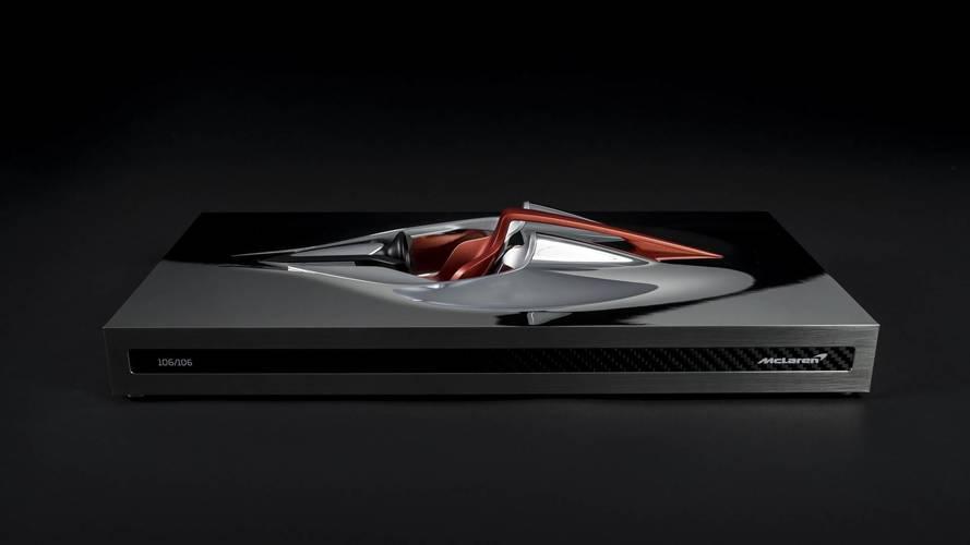 McLaren BP23 satın alanlara özel bir heykel de hediye ediliyor