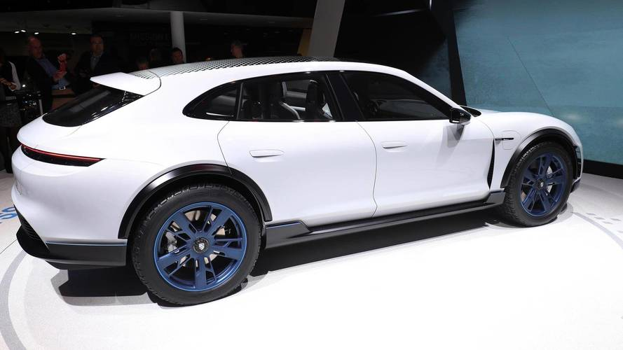 Porsche Mission E Cross Turismo Makes Surprise Debut In Geneva