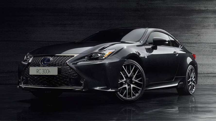 Lexus RC 300h F Sport Black Edition Gets Sinister Look For Geneva
