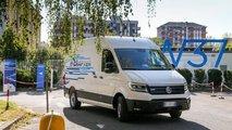 Volkswagen e-Crafter anteprima italiana
