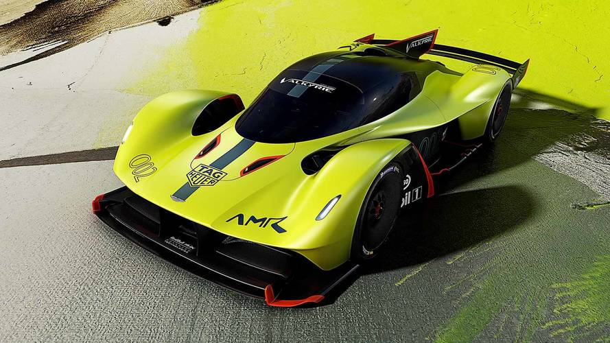 Aston Martin Valkyrie 'track pack' version raised