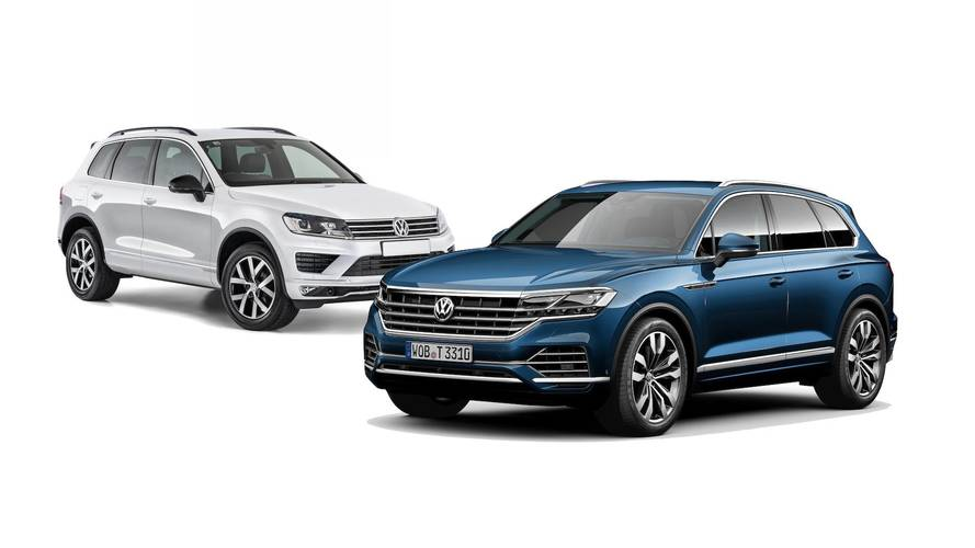 2019 VW Touareg: See The Changes Side-By-Side