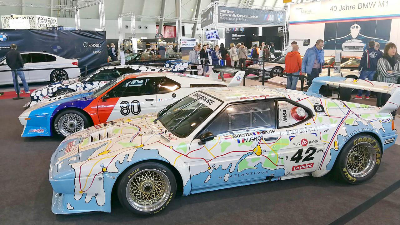 Retro Classics 2018: 40 Jahre BMW M1