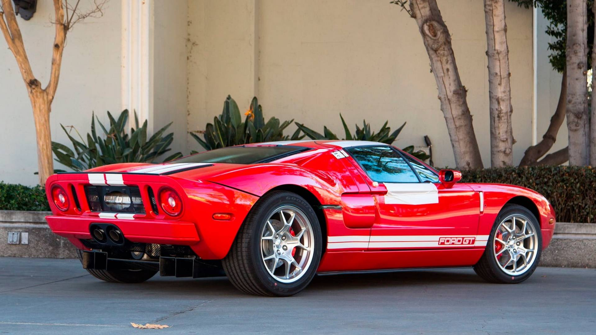 Two identical untouched ford gts are heading to auction