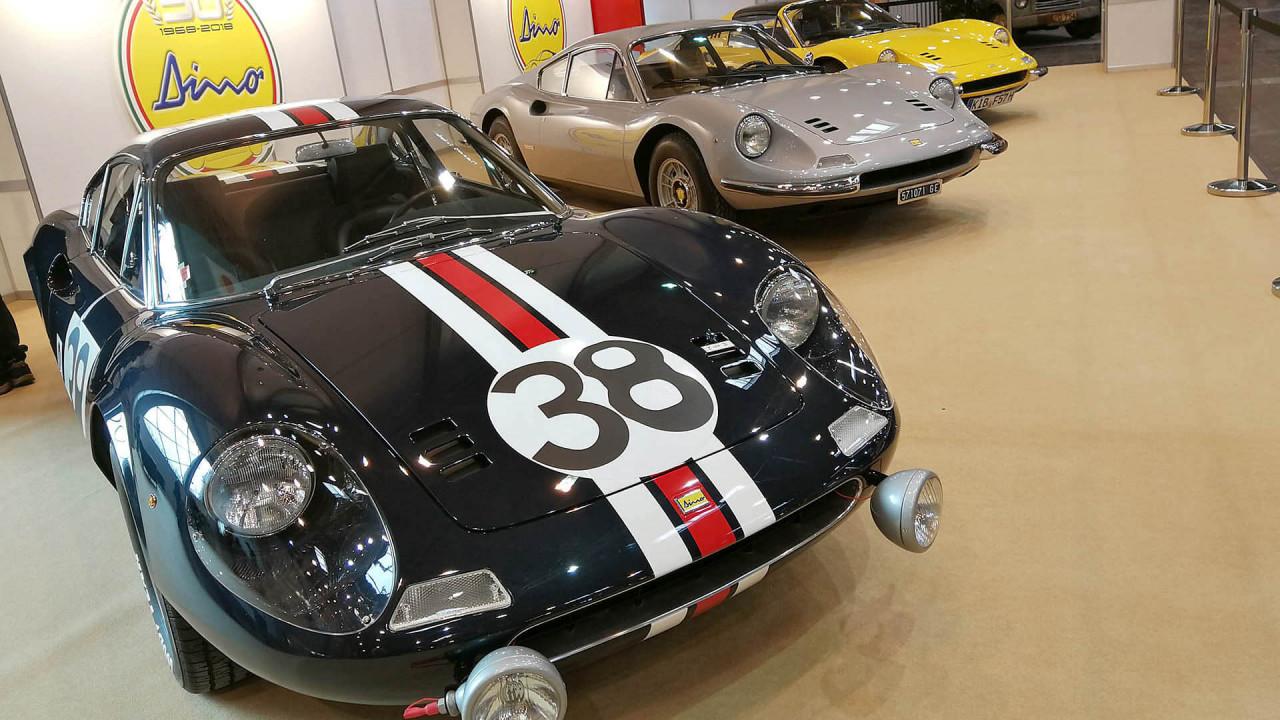 Techno Classica 2018: 50 Jahre Ferrari Dino