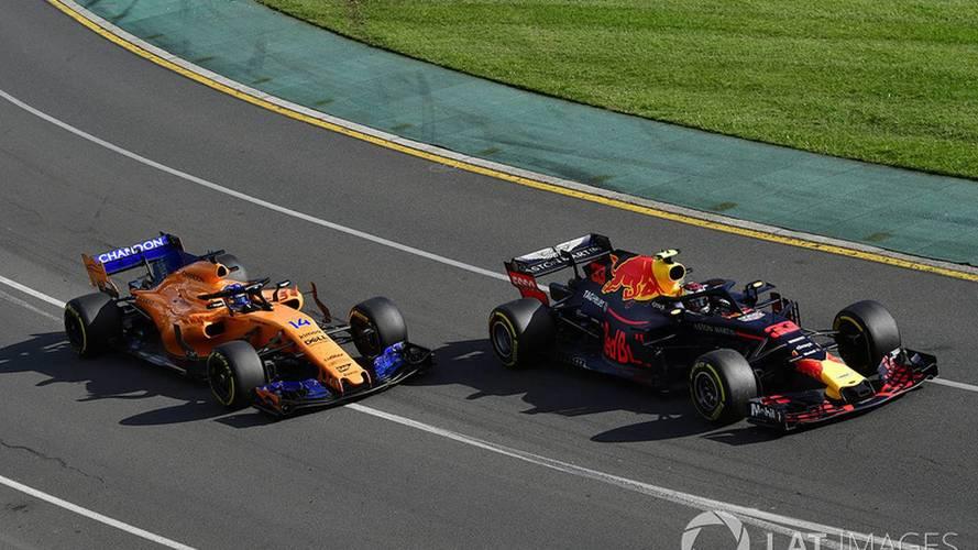 Fernando Alonso, en el GP Australia 2018 de F1