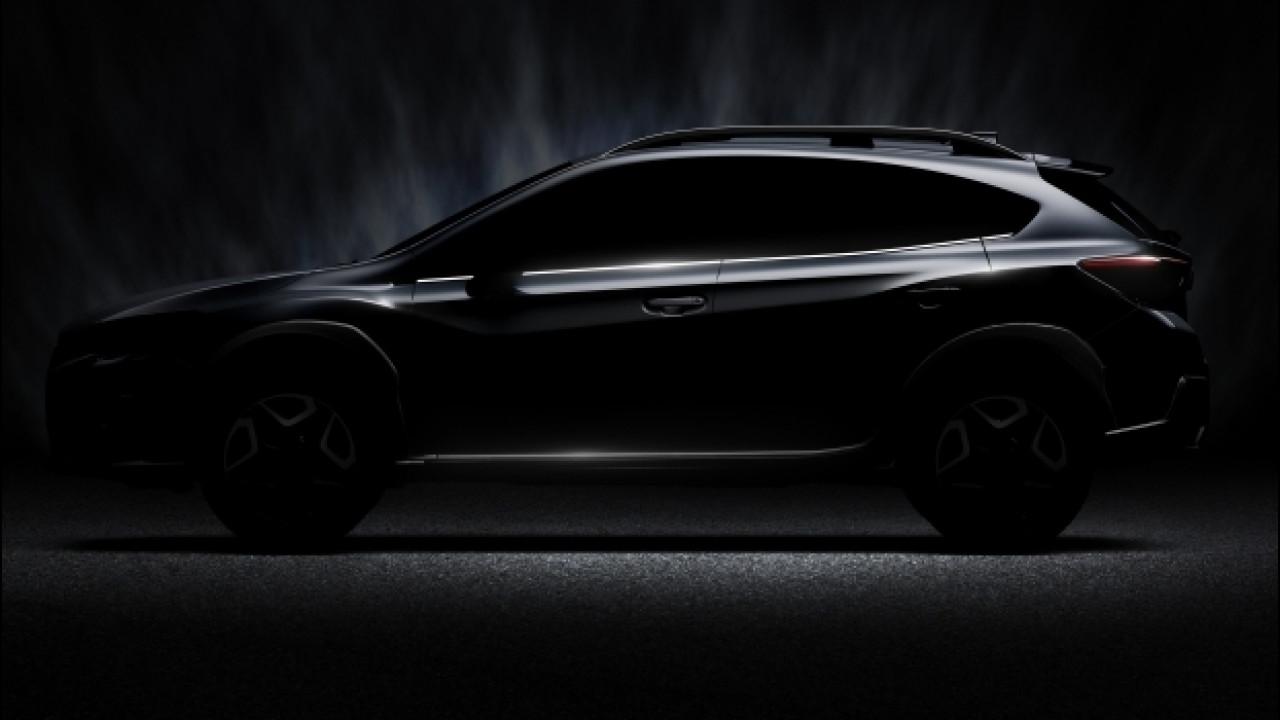 [Copertina] - Nuova Subaru XV, appuntamento al Salone di Ginevra