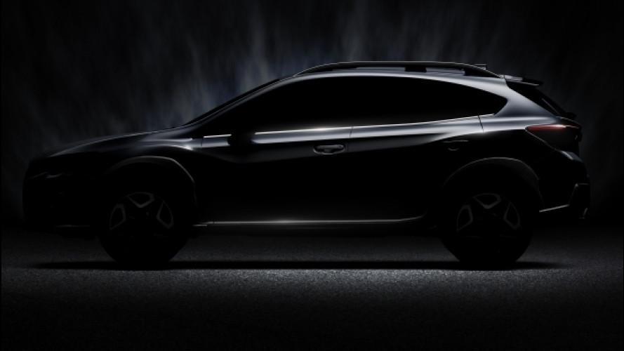 Nuova Subaru XV, appuntamento al Salone di Ginevra