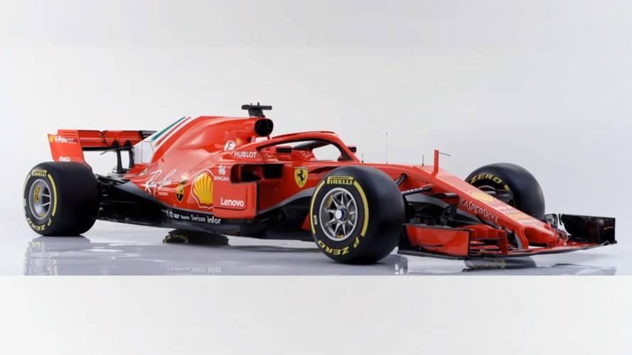 Ferrari, kırmızı halo sahibi F1 aracı SF71H ile bizlerle