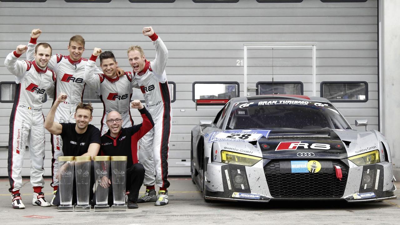 Audi R8 LMS #28 (Audi Sport Team WRT), Laurens Vanthoor/Nico Müller/Christopher Mies/Edward Sandström