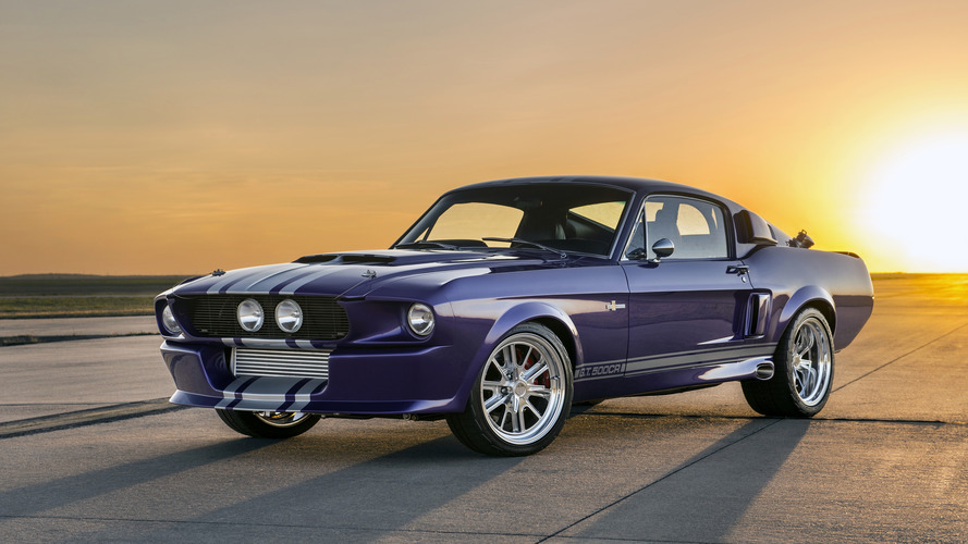 """Blurple"" Classic Recreations Shelby GT500CR is fit for a Sheikh"