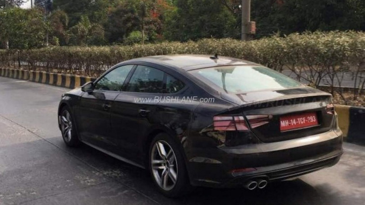 2017 Audi A5 Sportback Spied In India With Clever Disguise 2004 Ford Mustang Fuse Box Location Spy Photo