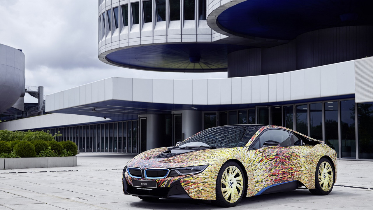 Bmw I8 Futurism Edition Is A One Off Splash Of Color