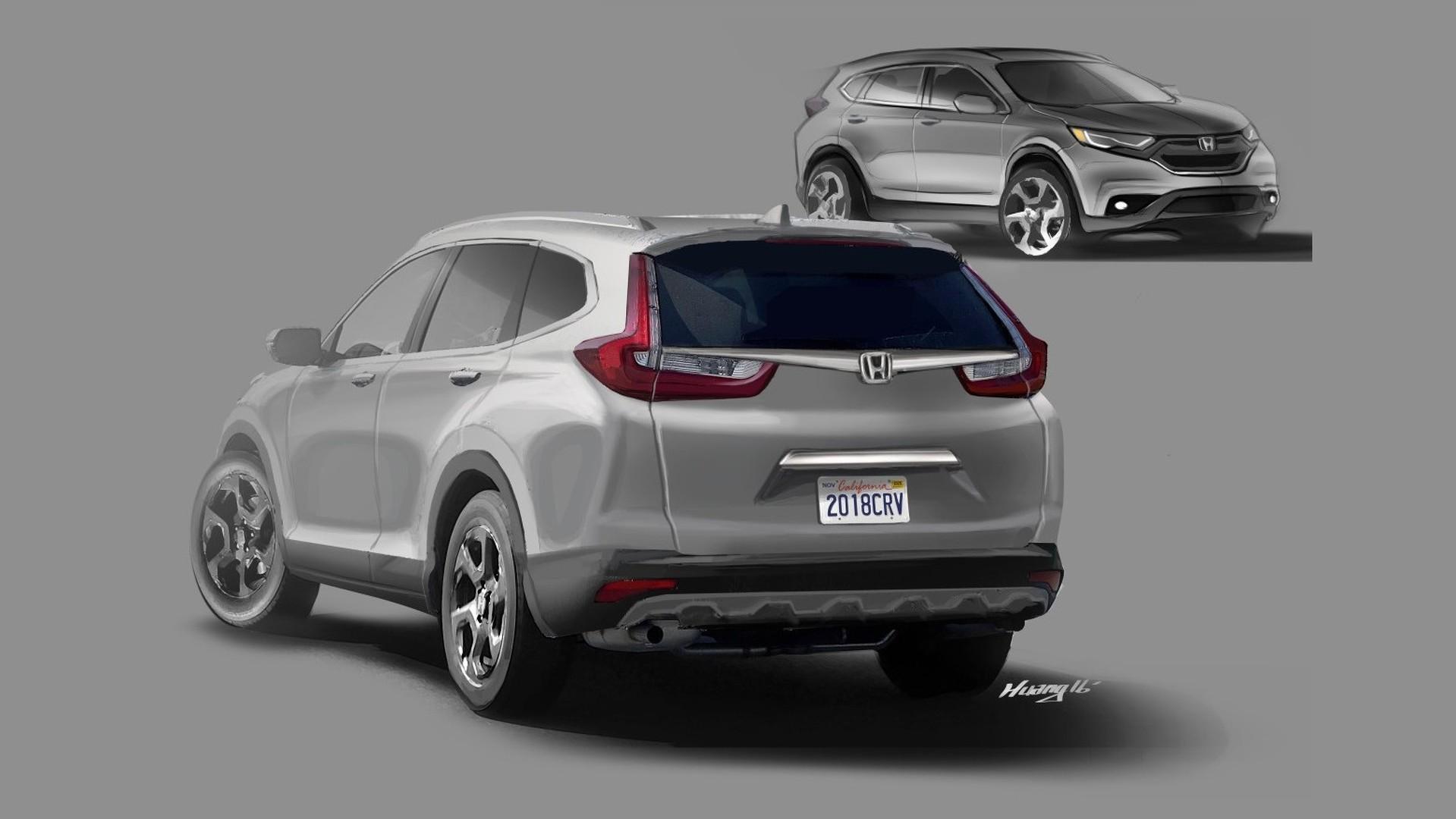 Reader Envisions 2018 Honda Cr V Based On Spy Shots