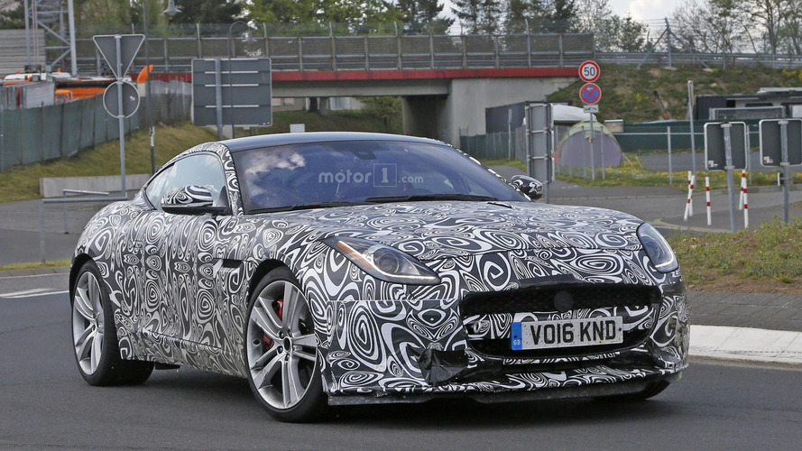 2017 Jaguar F-Type with four-cylinder engine spy photo