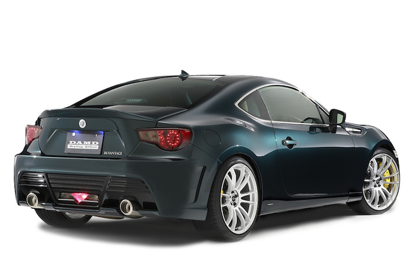 This Toyota GT 86 Wants to be An Aston Martin So Bad