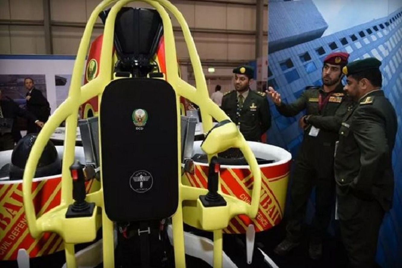 Dubai's Jetpacks for Fighting Skyscraper Fires