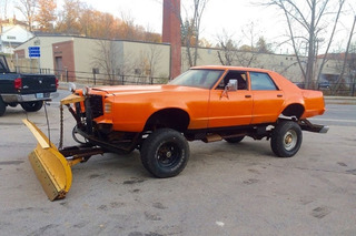 Plow Like a Boss in This Lifted 1977 Ford LTD