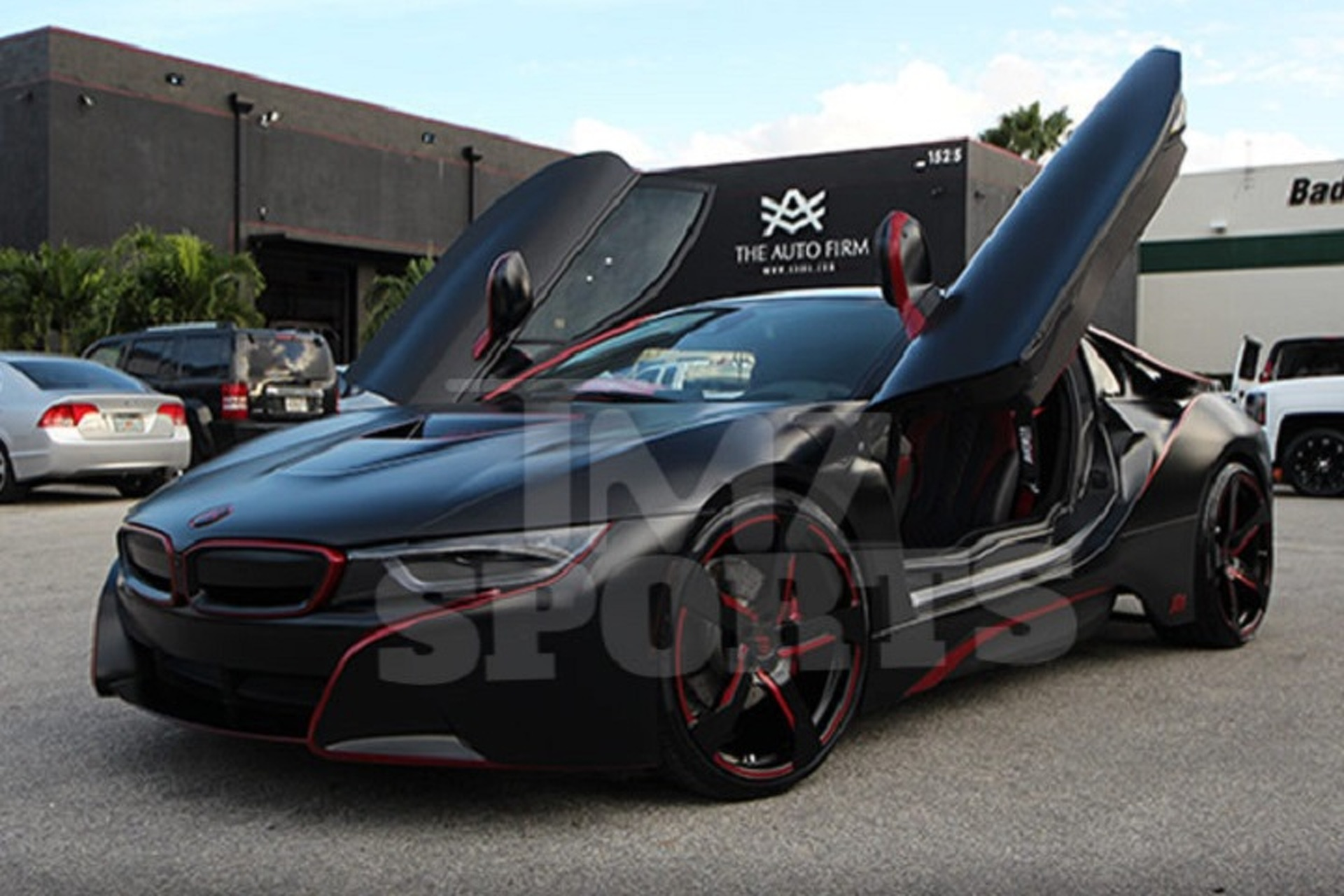 Red Sox Player Spends 45k To Make His Bmw I8 Glow