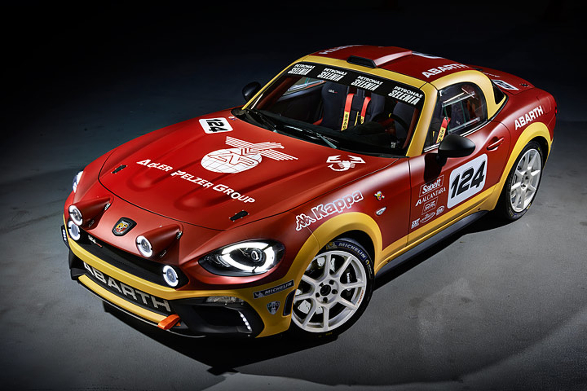 The 2017 Abarth 124 Rally Is A 300 Hp Dirt Slinging Beauty