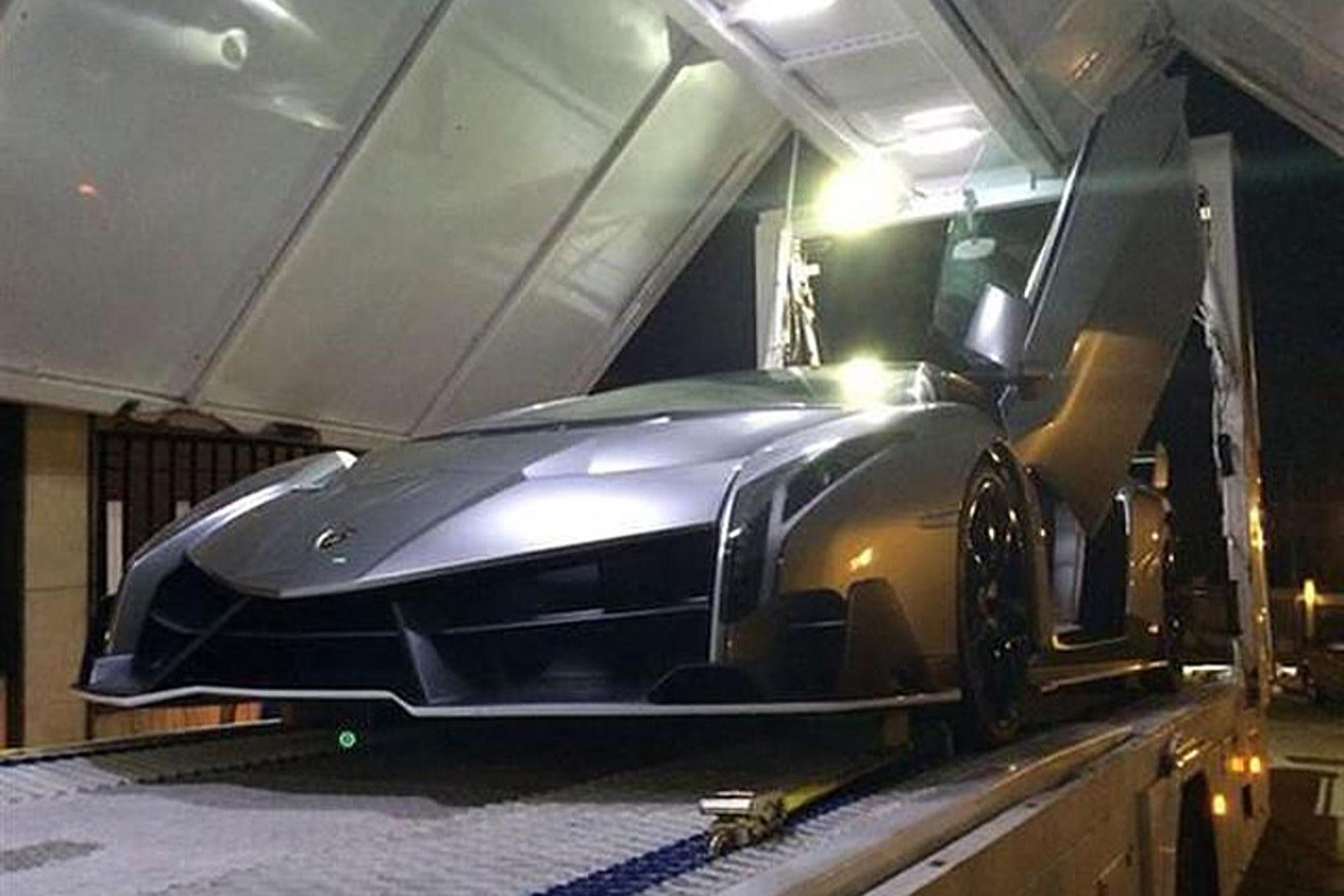 A Rare Lamborghini Veneno is Up for Sale Only $11 Million