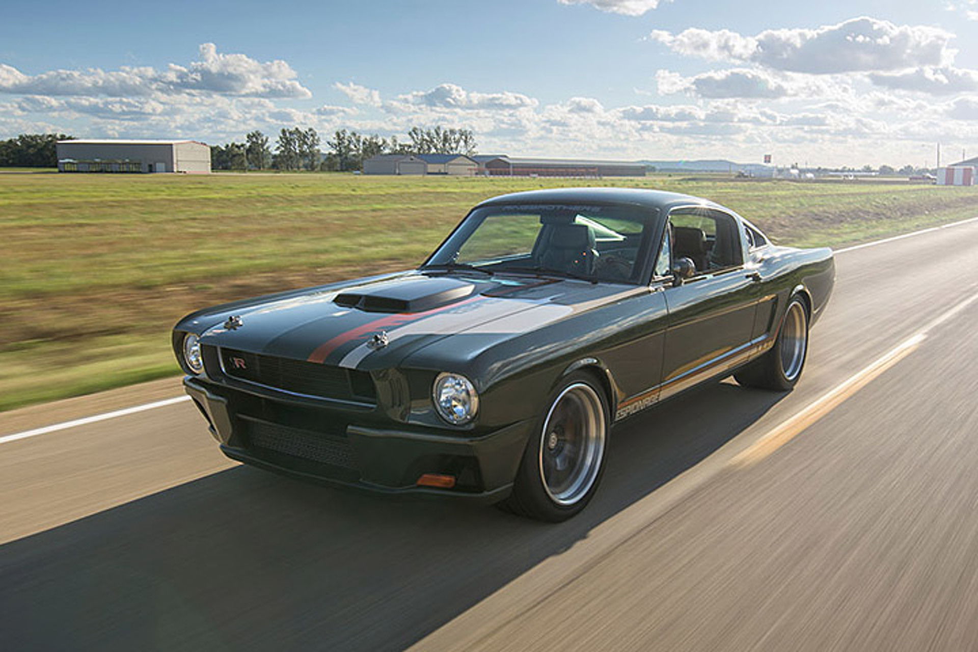 Ford Muscle Cars >> 959 Hp Ford Mustang Espionage Makes Other Muscle Cars Look