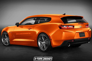 2016 Chevy Camaro Shooting Brake: Love It or Hate It?