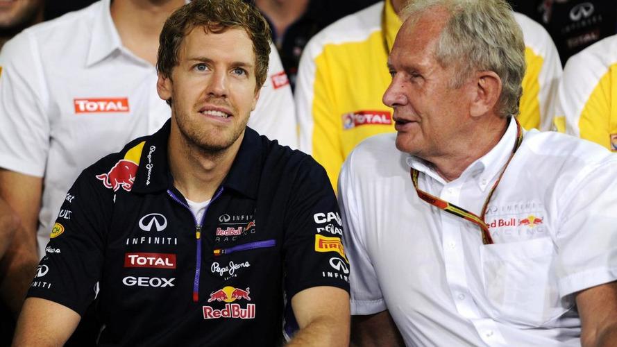 Dr Helmut Marko (AUT) and Sebastian Vettel (GER) / XPB