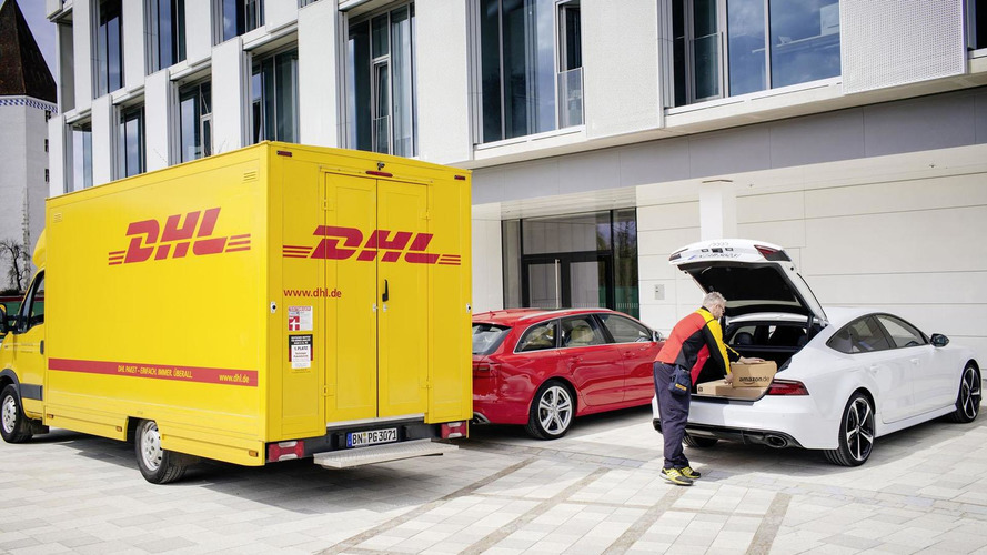 Audi & Amazon want to put junk in your trunk