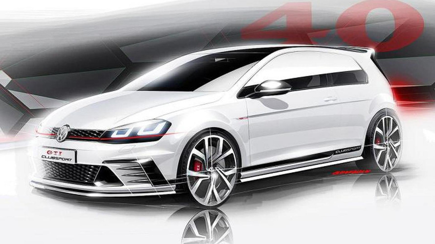 Volkswagen Golf GTI Clubsport teased ahead of Wörthersee debut