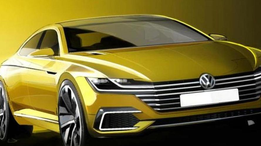 """Volkswagen """"CC"""" concept previewed ahead of Geneva debut"""