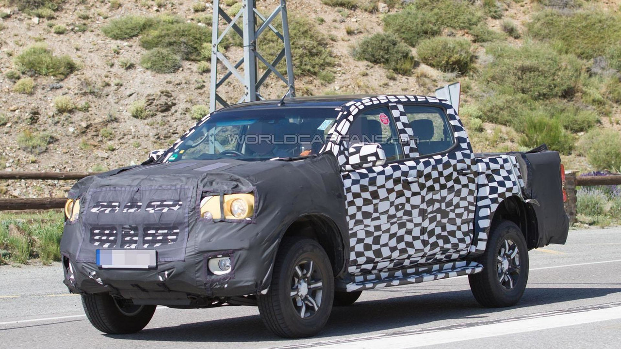 Mysterious Chevrolet Colorado prototype